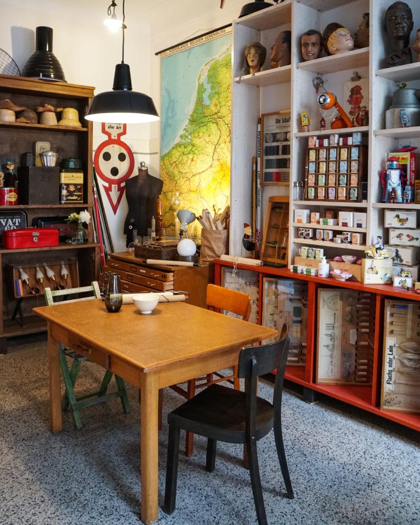 Stauraum in Düsseldorf Düsseldorf: Nachhaltige Läden und Cafés