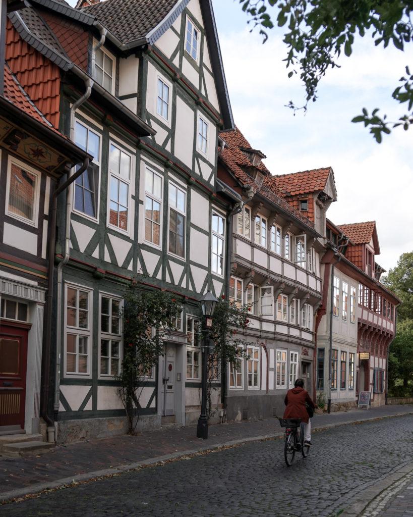 In der Altstadt von Hildesheim